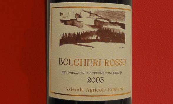 Bolgheri Rosso 2005