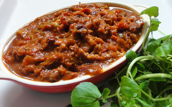 Spicy Lamb Casserole