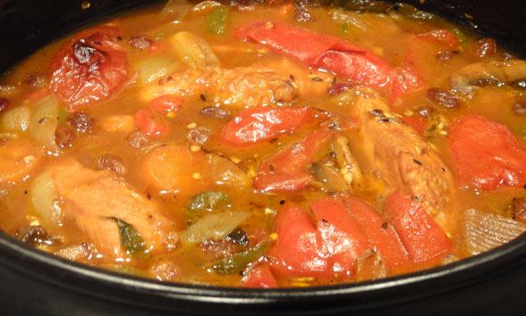Chicken Casserole Indian Style