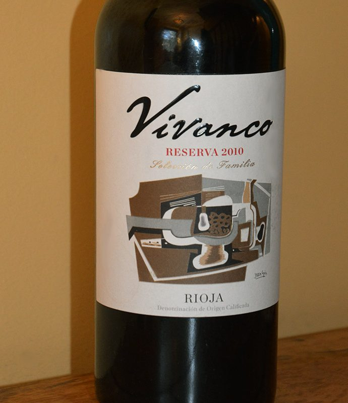 Vivanco Reserva Rioja 2010