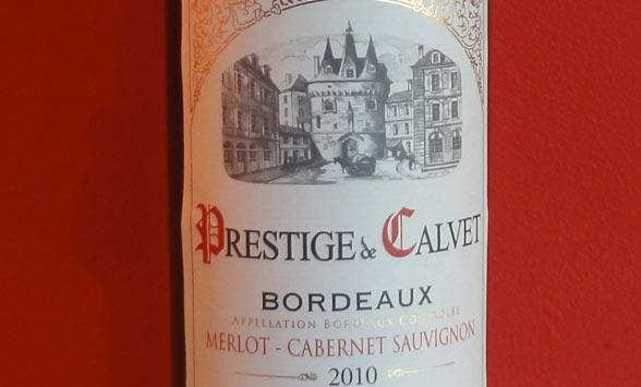 Prestige de Calvet Bordeaux 2010