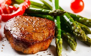 Fillet Steak with Pepper Sauce
