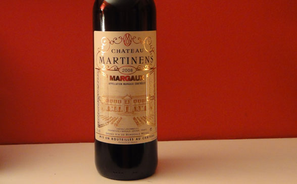 Chateau Martinens 2008 Margaux