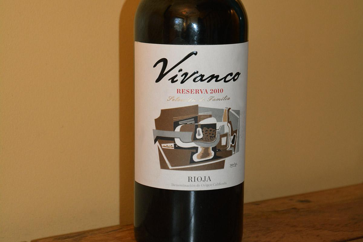 Vivanco Reserva Rioja 2010