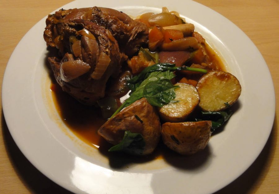 Lamb Shanks Casserole