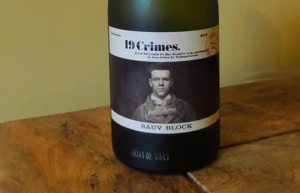19 Crimes Sauvignon Blanc 2019