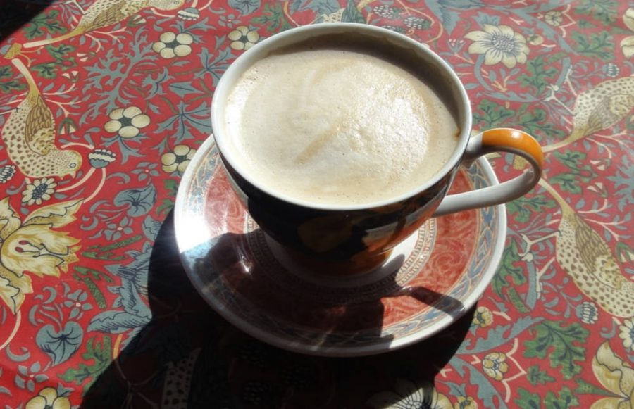 Lovely Frothy Coffee